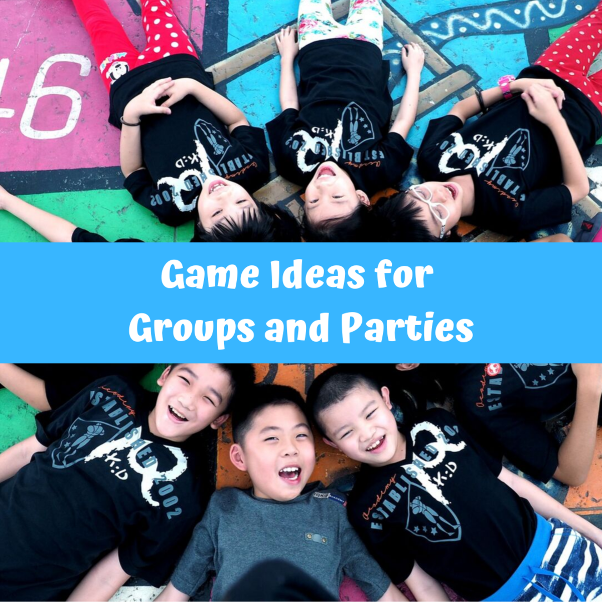 Find some fun activities for large (or small) groups!