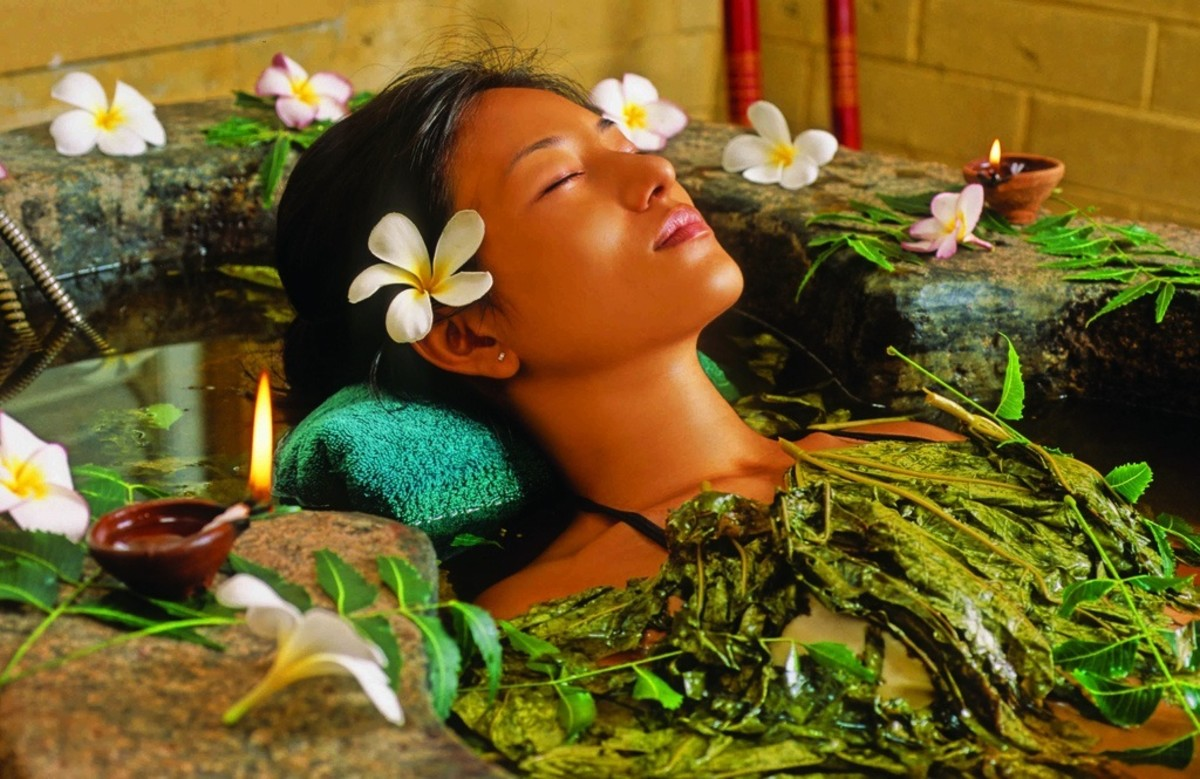 Ayurvedic massage often incorporates warm oils and herbs.