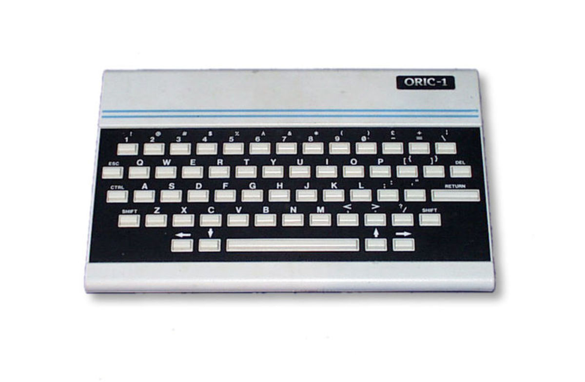 The rather spiffy looking Oric 1