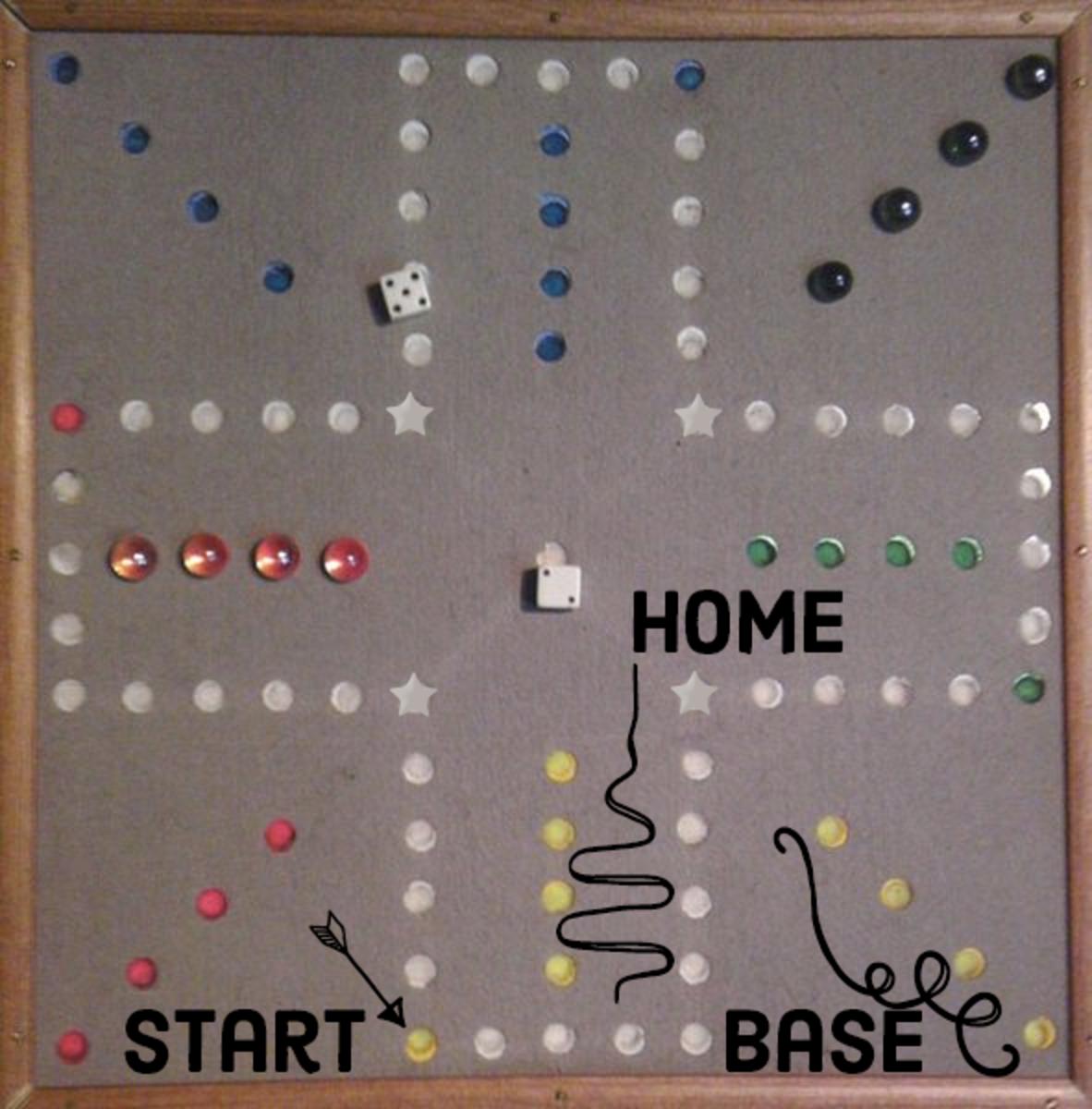 Aggravation Board Game Instructions Hobbylark
