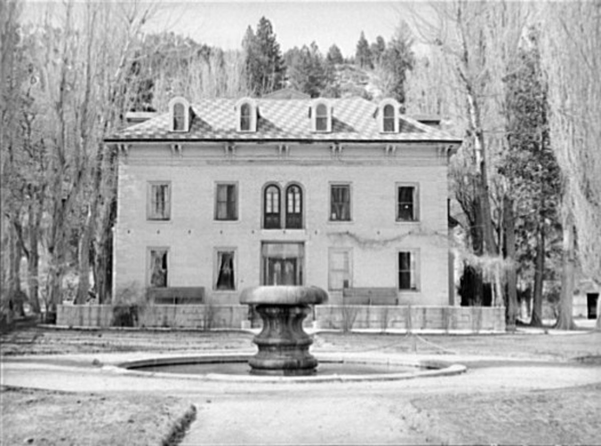 Eilley Bowers' Mansion of Sorrows