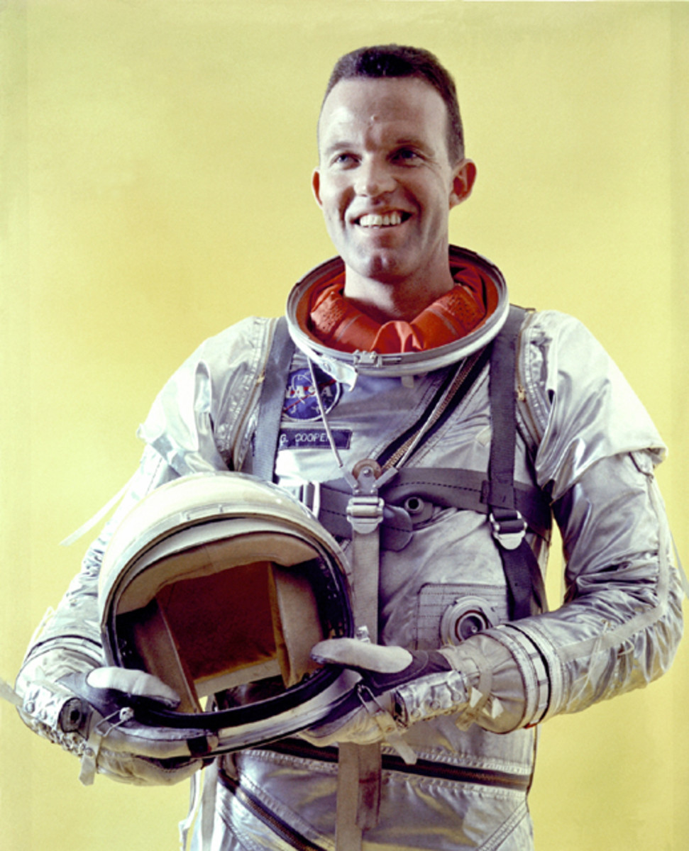 Mercury Astronaut Gordon Cooper. Photo courtesy of NASA.
