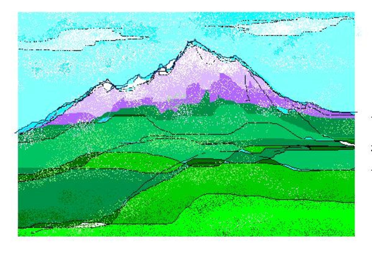 Mount Kenya is the sacred Mountain of the Kikuyu, the abode of God Ngai