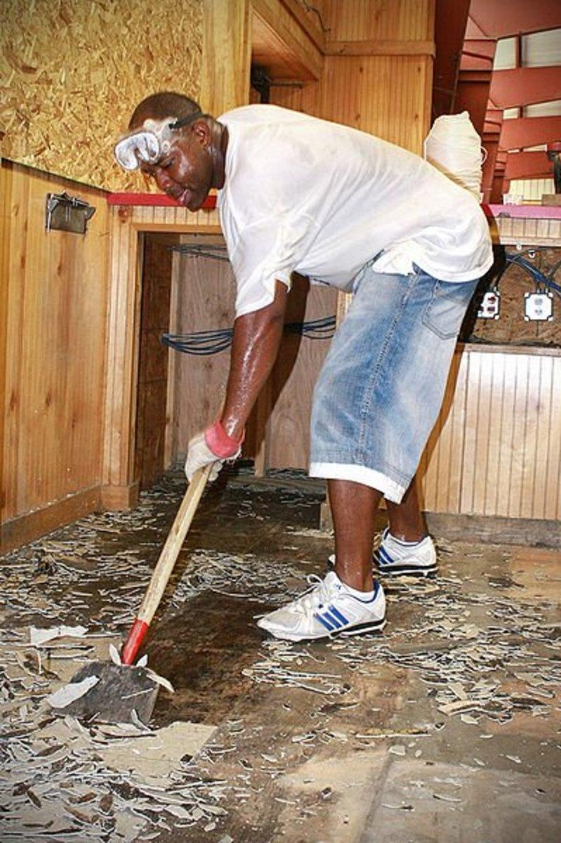 How to Lay Self-Stick Vinyl Tile Flooring