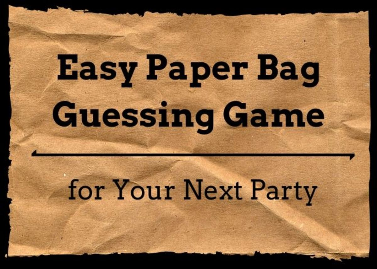 This game is perfect for the whole family and can be easily prepared with items you already have around your home.