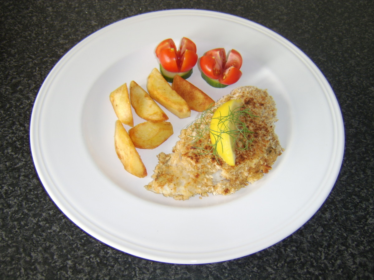 Pan fried pouting in breadcrumbs is one of the recipes featured on this page