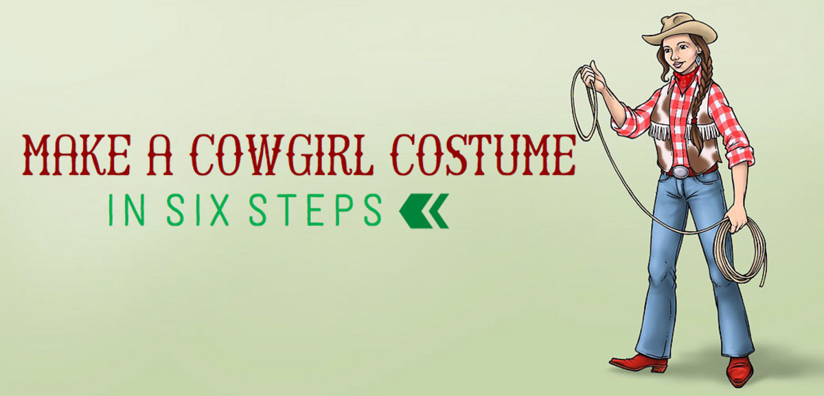 A Cowgirl Costume in Six Steps