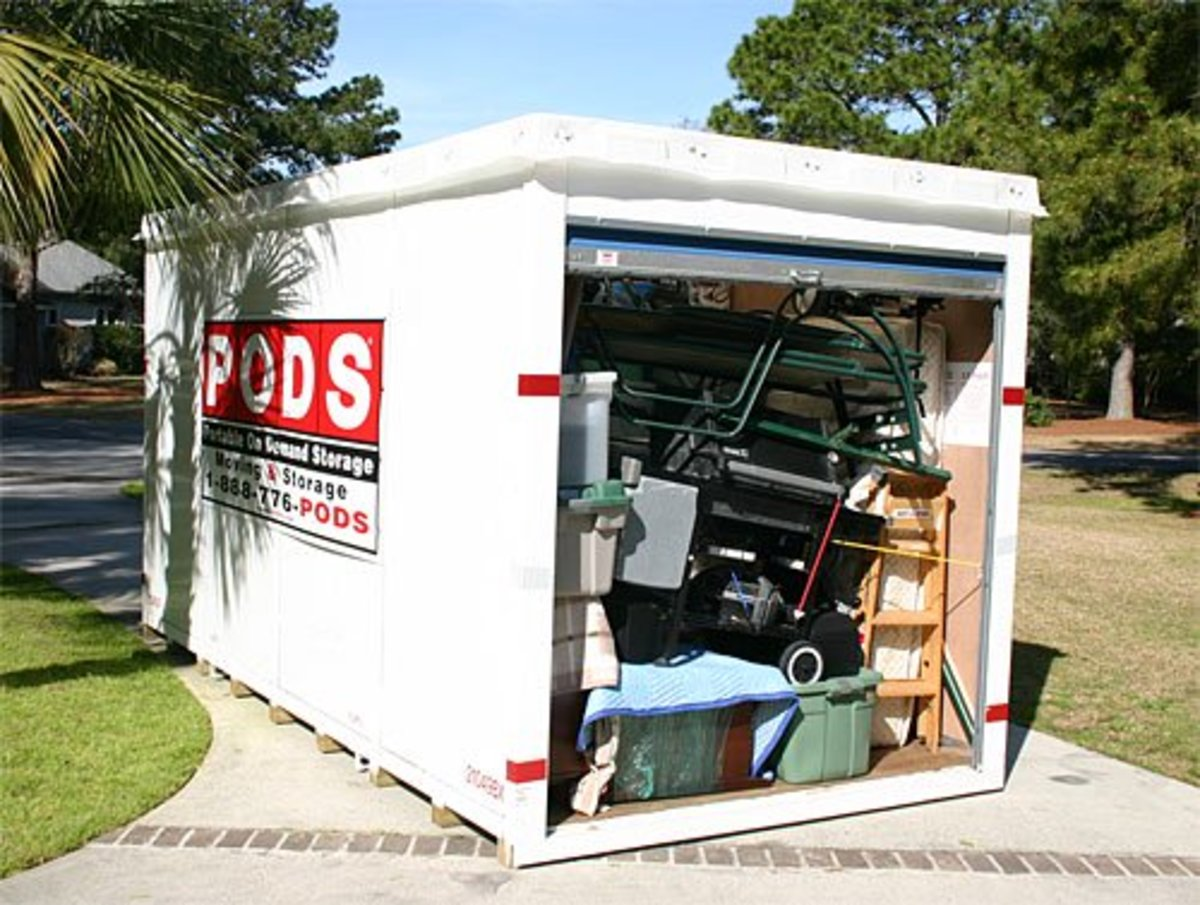 Portable Moving And Storage Review U Haul U Box Vs Pods