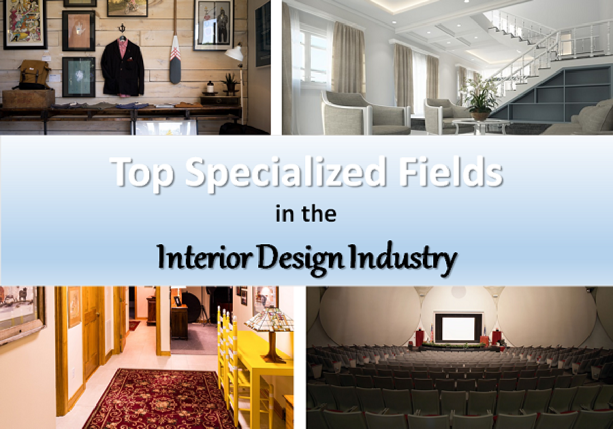 Top Specialized Fields in the Interior Design Industry