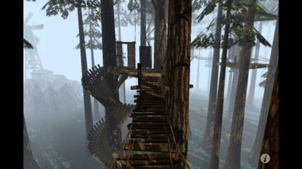 """A screenshot from """"Myst."""" If you're looking to replicate the experience of this influential puzzle adventure game, here are five other games to check out."""