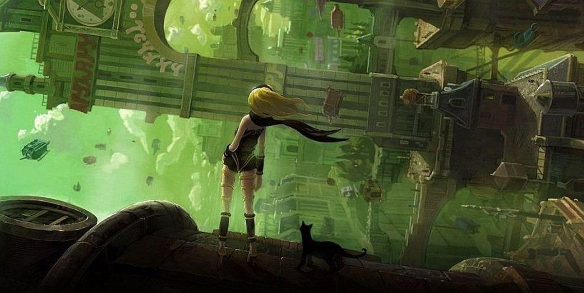 """PS Vita Box Art for """"Gravity Rush"""""""