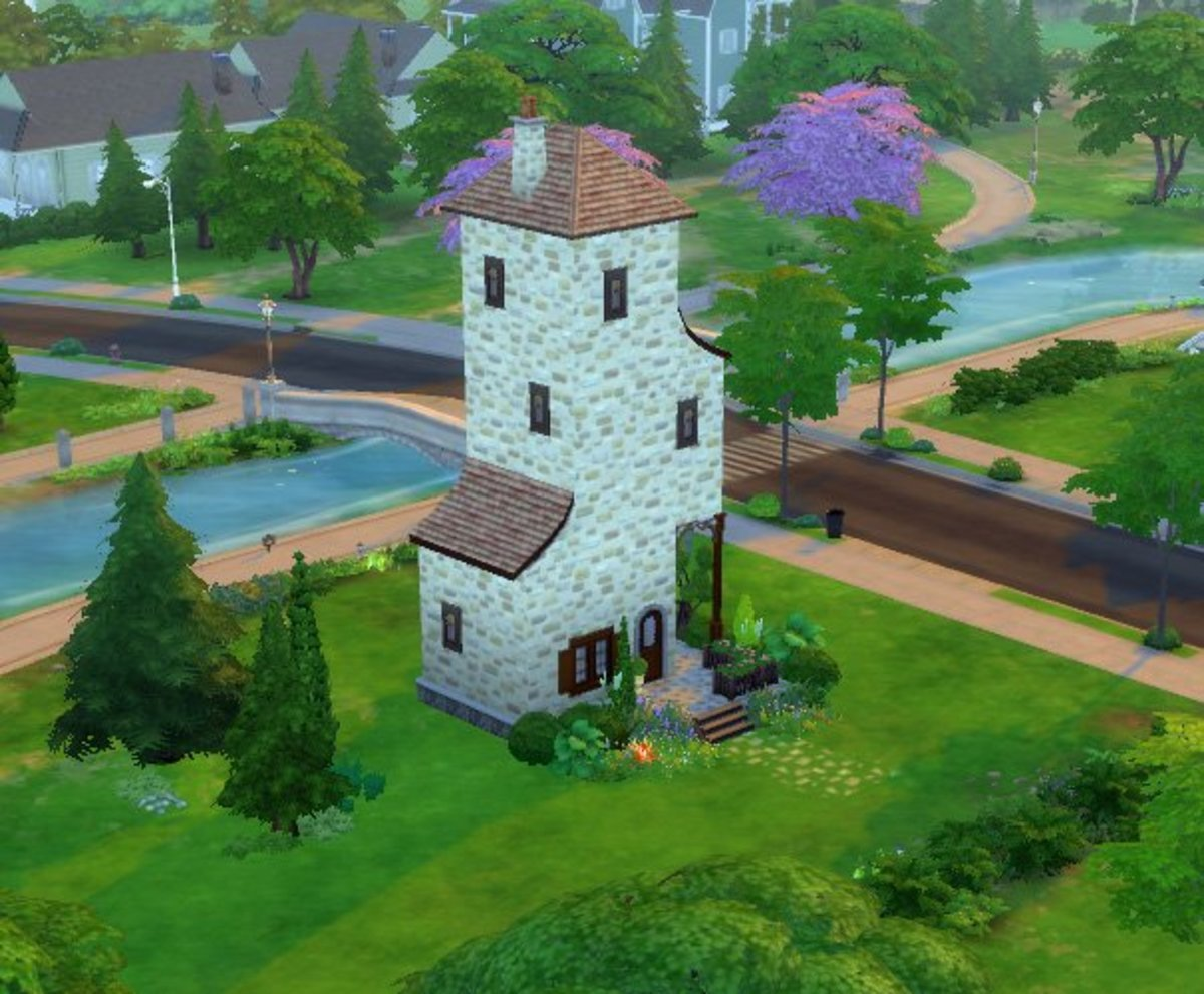 """The Sims 4"" Building for Beginners: Introduction to Build Mode"