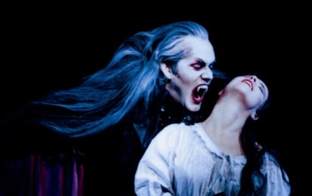 Many plays and movies have been written about vampires.