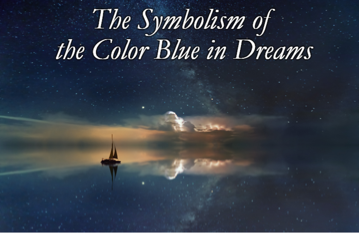 What Does the Color Blue Symbolize in Dreams?