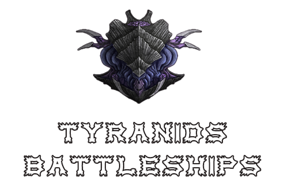 """Battlefleet Gothic: Armada II"" - Tyranids Battleships [Advanced Ship Guide]"