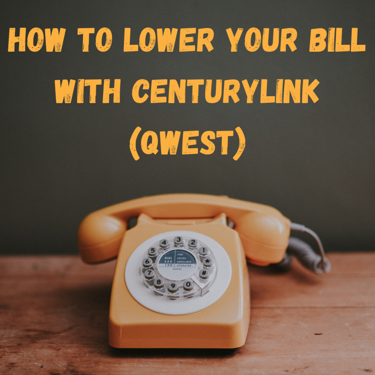 High Phone or Internet Bill? Call Qwest and demand a lower rate on your phone or internet bill.