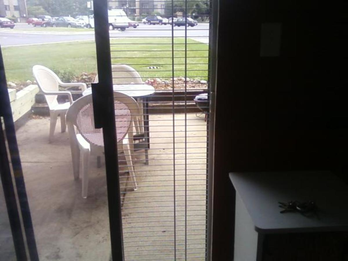 How To Make a Pet-Proof Screen Panel for your Sliding Glass Door