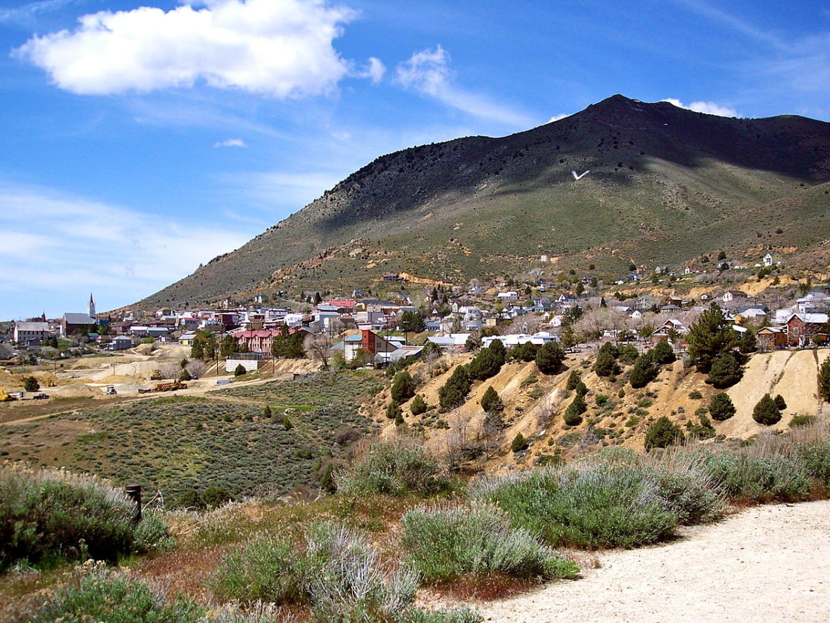 Virginia City, Nevada, and Her Spirits of the Past