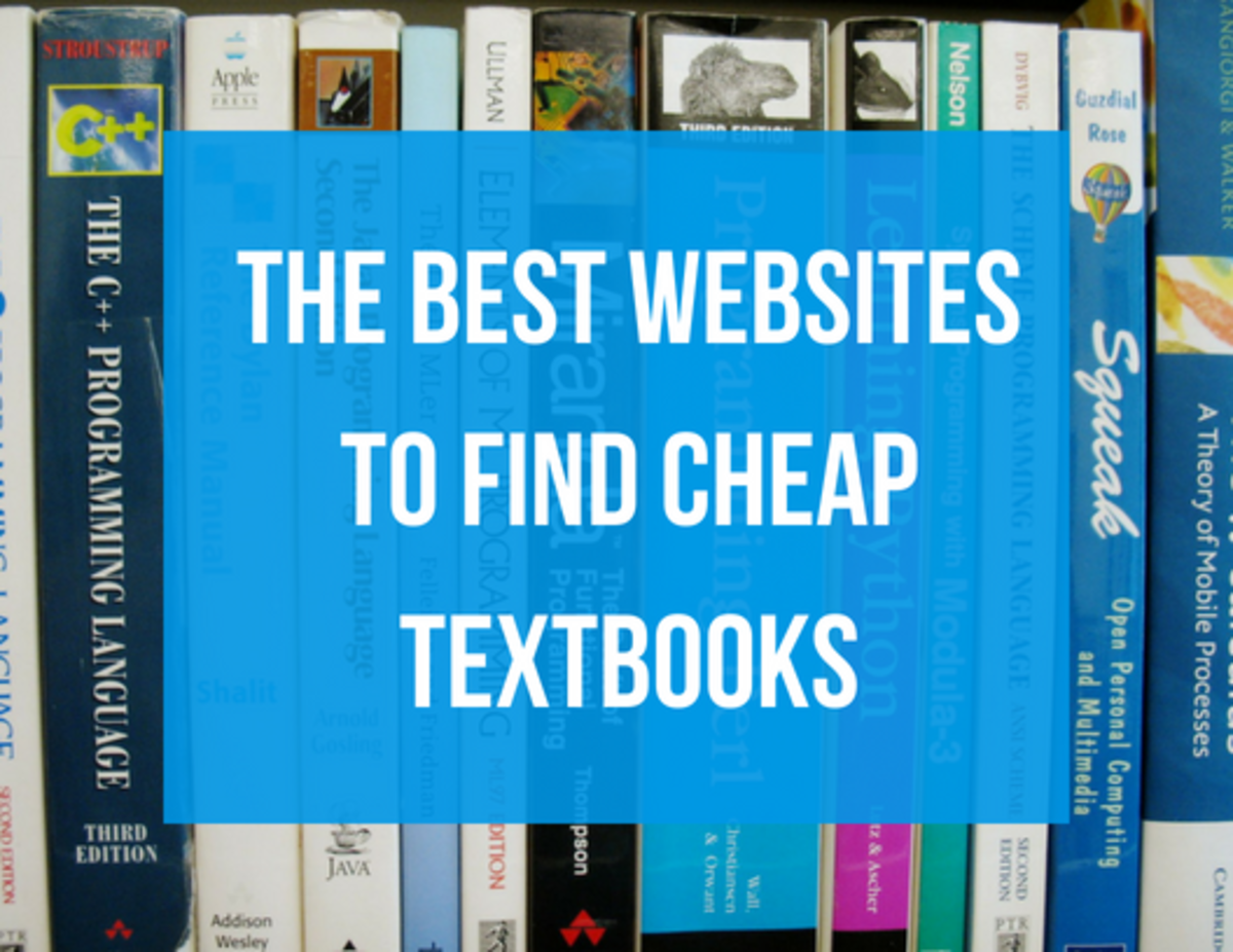 Finding affordable textbooks shouldn't be a huge pain.