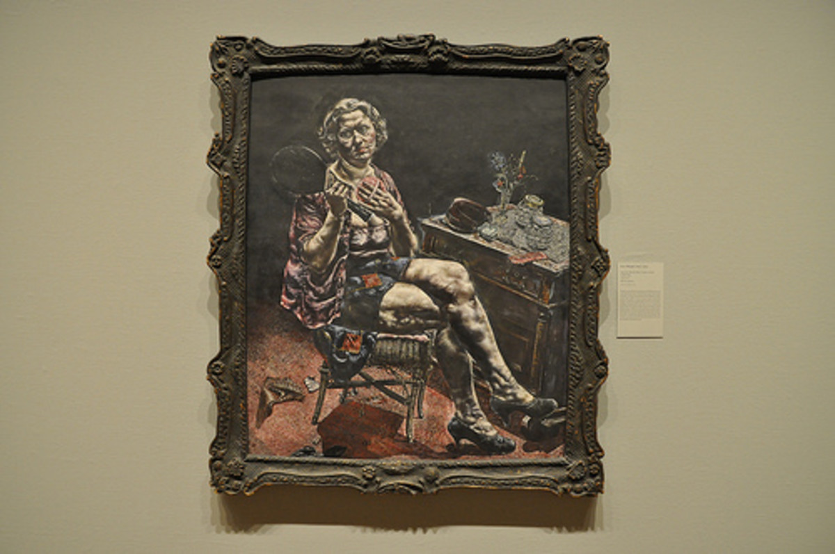 Ivan Albright's, Into This World There Came a Soul Called Ida