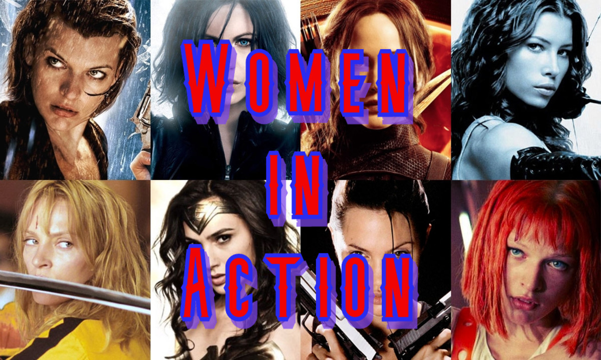 Let's Talk About... Women in Action Movies (2019)
