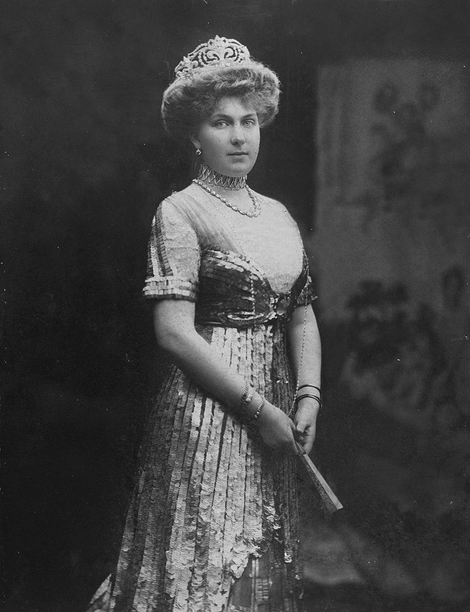Ena, Princess Victoria Eugenie of Battenberg.