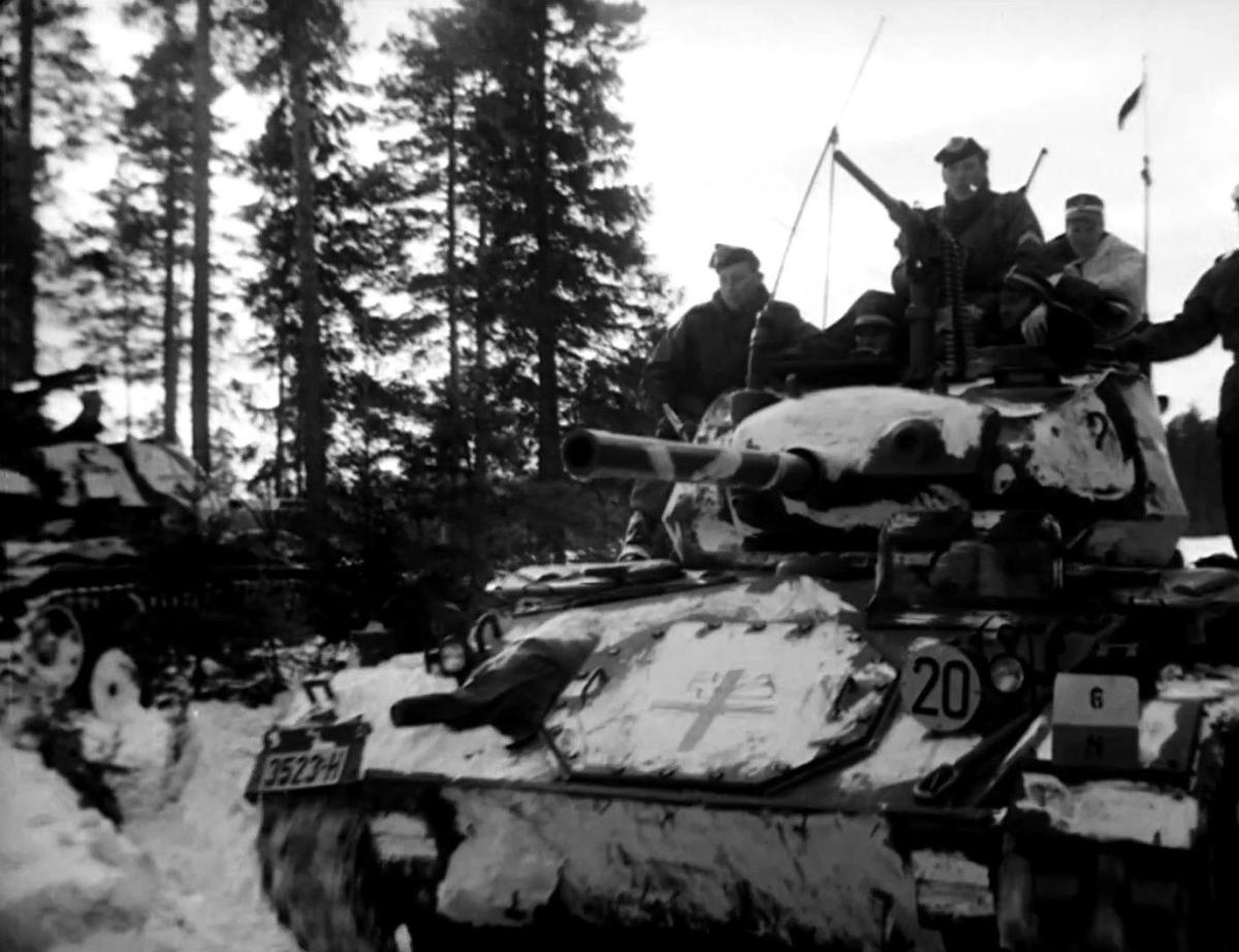 Upgraded Norwegian M24s with 90mm guns are actually reasonably good in Wargame, but the basic Chaffee is miserable