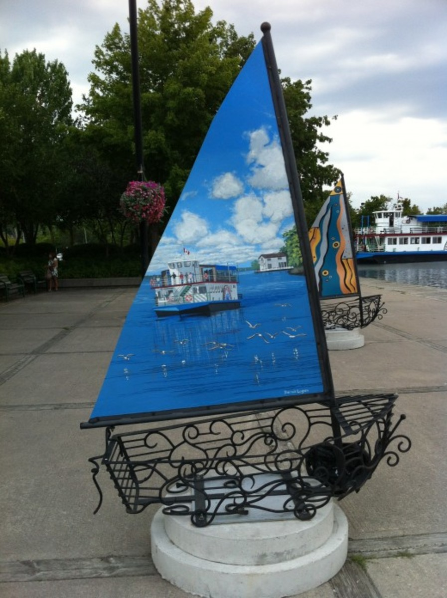 In 2011 the theme for Streets Alive was 60 Sails