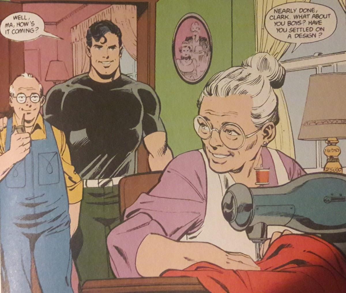 Ma Kent: Super-mom