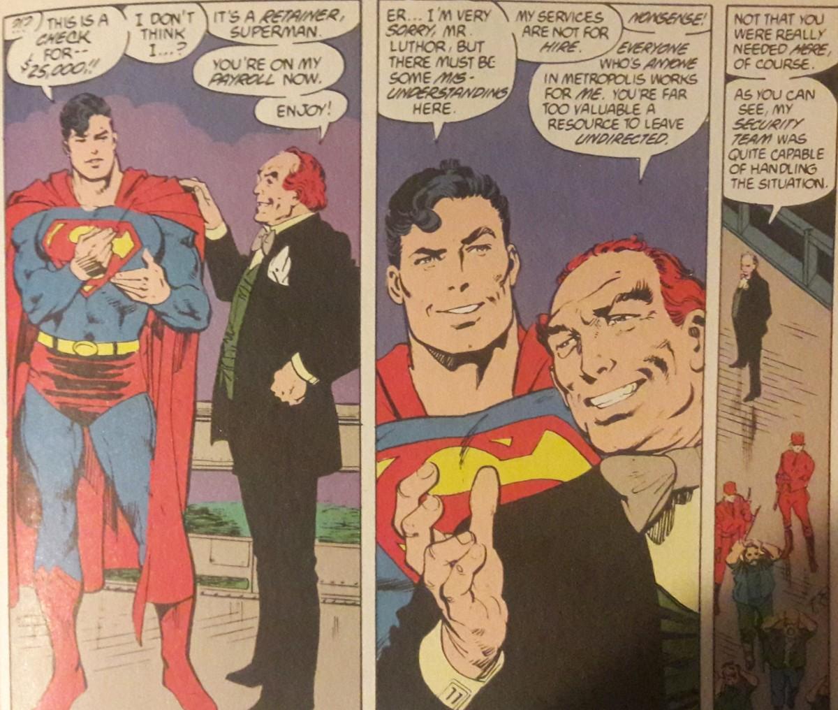 Lex Luthor, always willing toupee