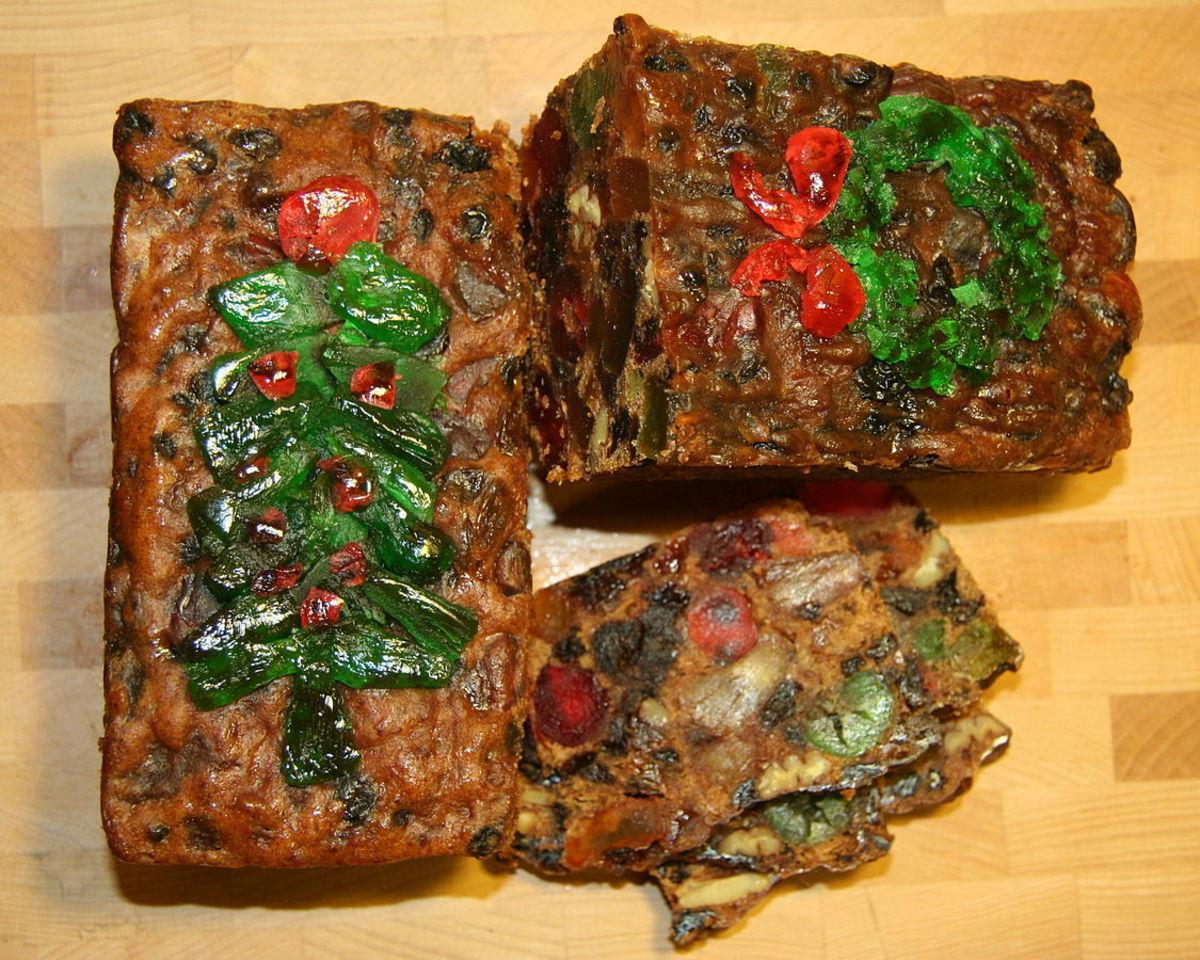 Recipe for Christmas Drunken Fruitcake
