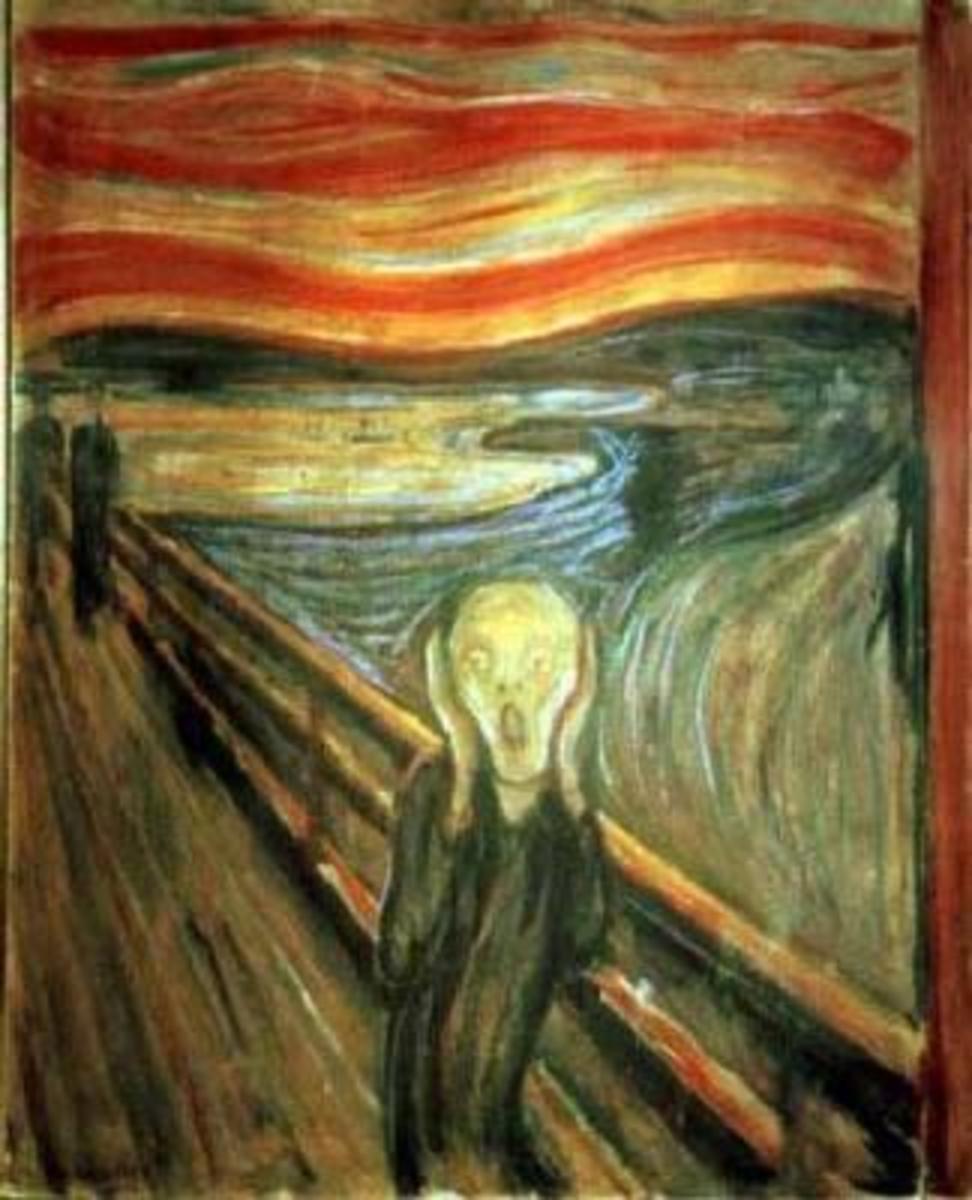 """""""The Scream"""" (1893) by Edward Munch"""