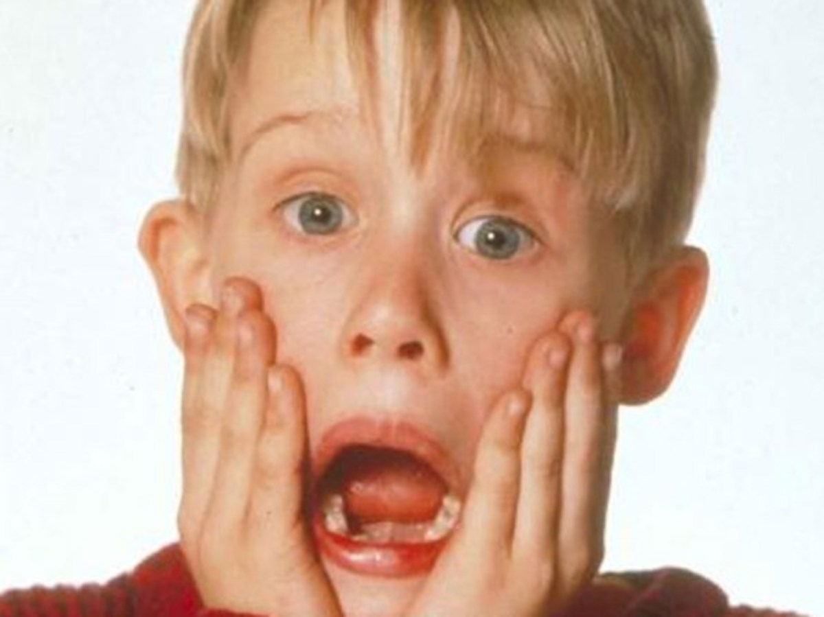 "Macaulay Culkin in ""Home Alone"" (1990)"