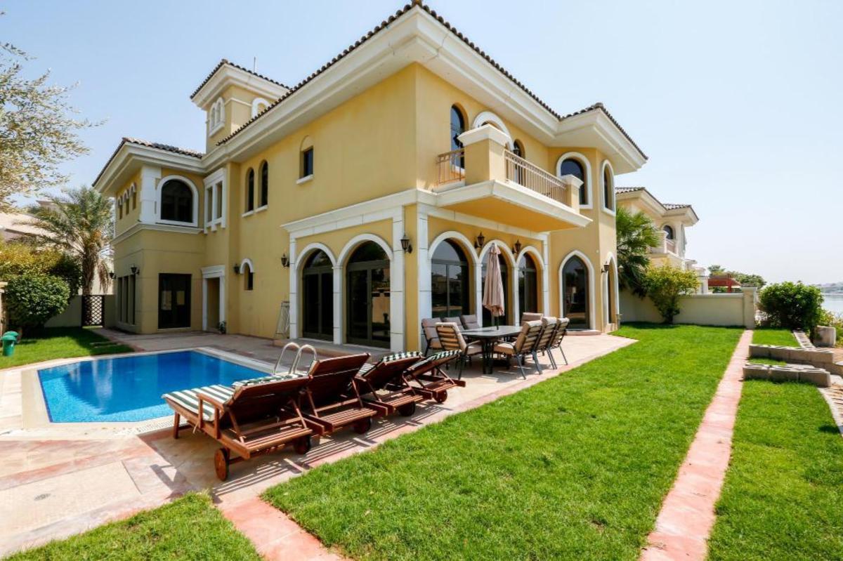 Typical luxury villa