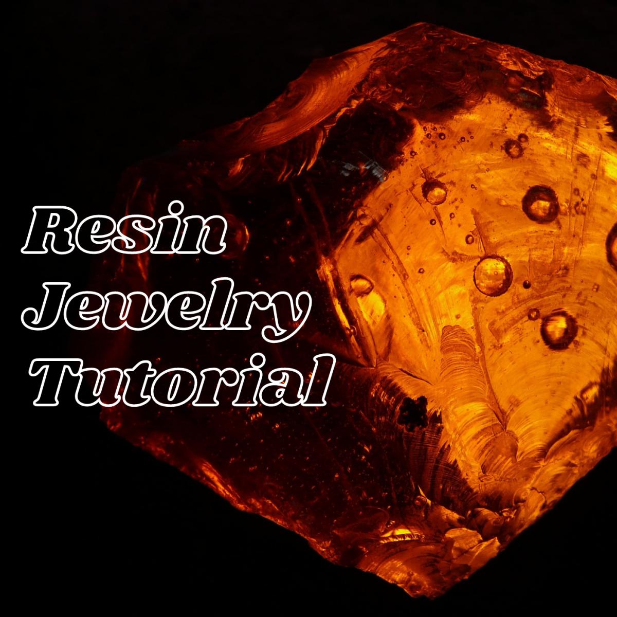 Resin jewelry tutorial