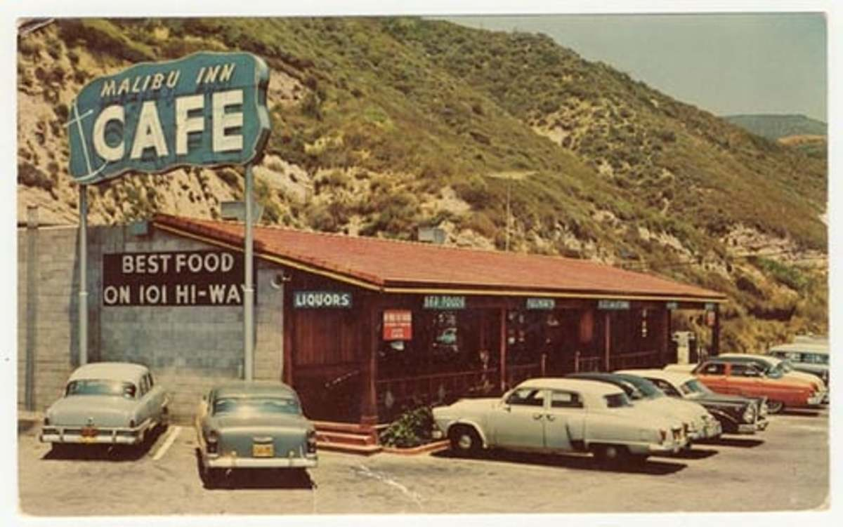 """Of roadside signs...with diners ahead"""