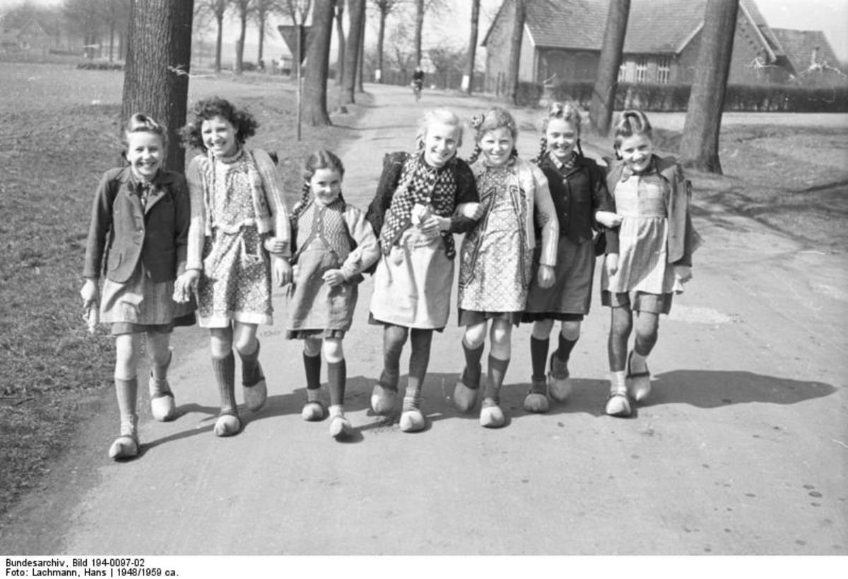 Historic Heartfelt Post-WWII 1948 Letter: German Children to Those in USA