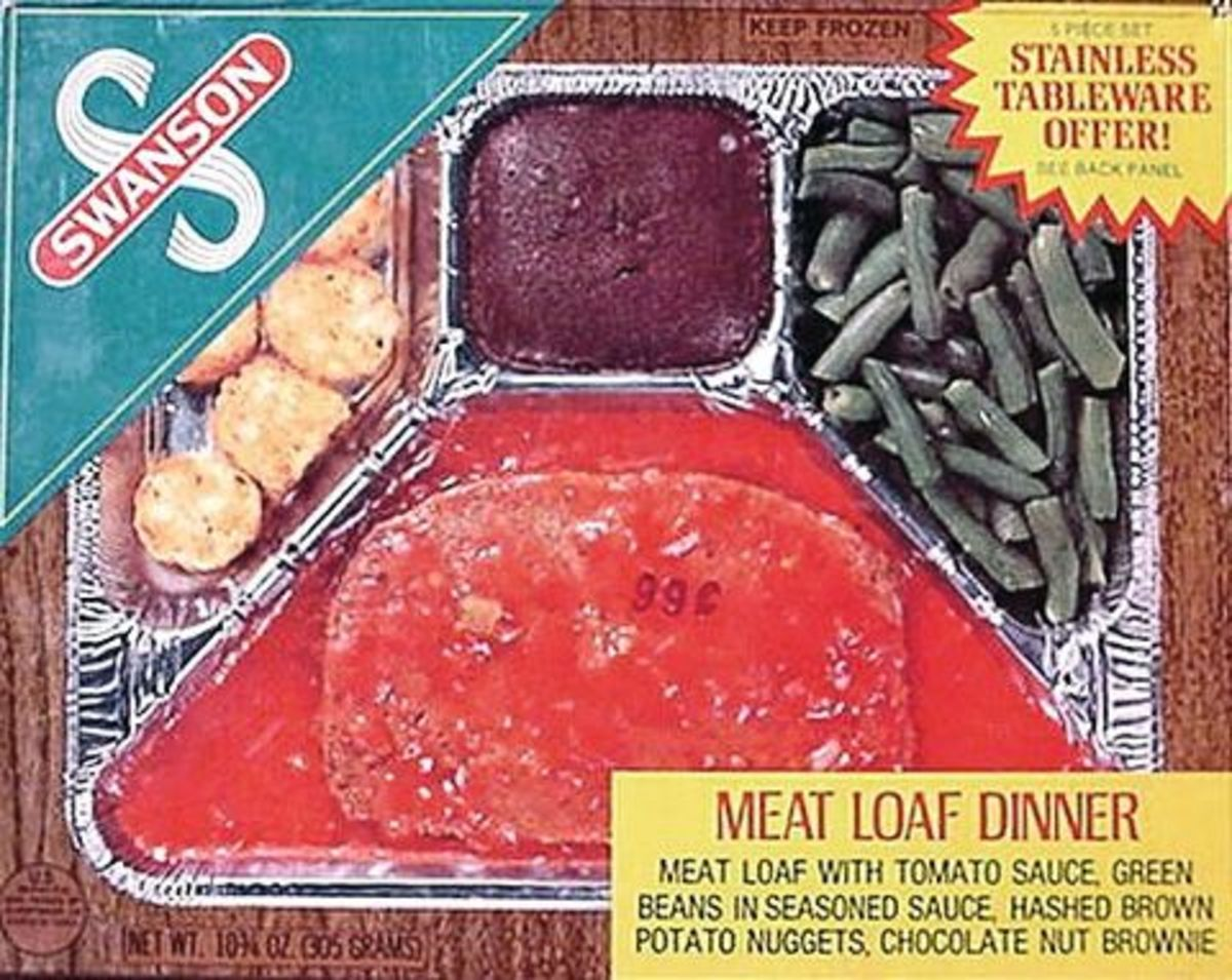 In 1956, Swanson's TV dinners were all the rage.