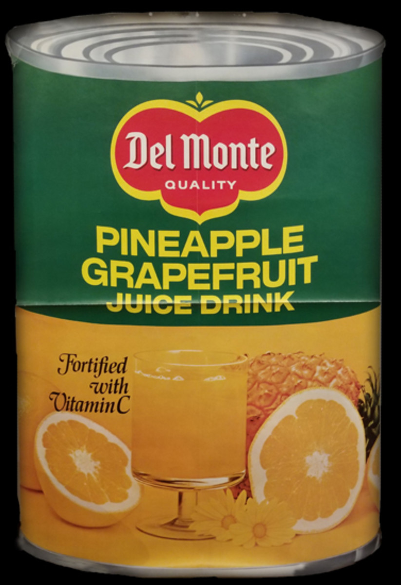 In 1956, Del Monte introduced its pineapple grapefruit drink.
