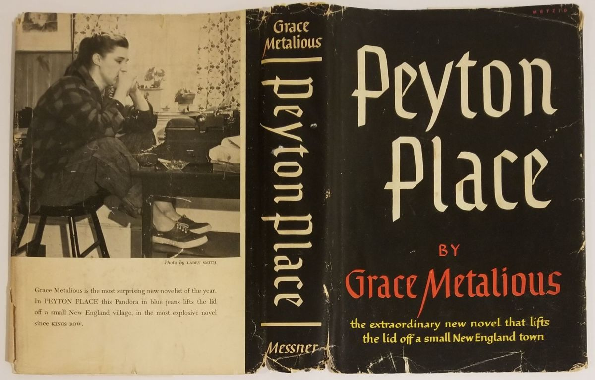 In 1956, Peyton Place, a story about the inhabitants of a small New Hampshire town, was a best-selling novel.