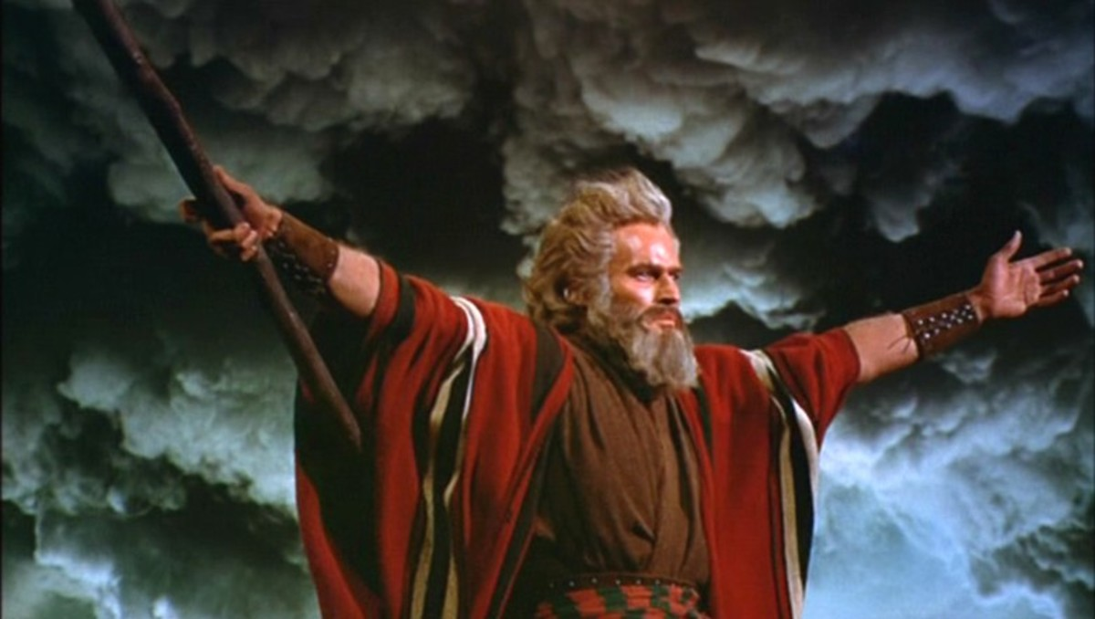 In 1956, The Ten Commandments, starring Charlton Heston as Moses, was the most popular film.