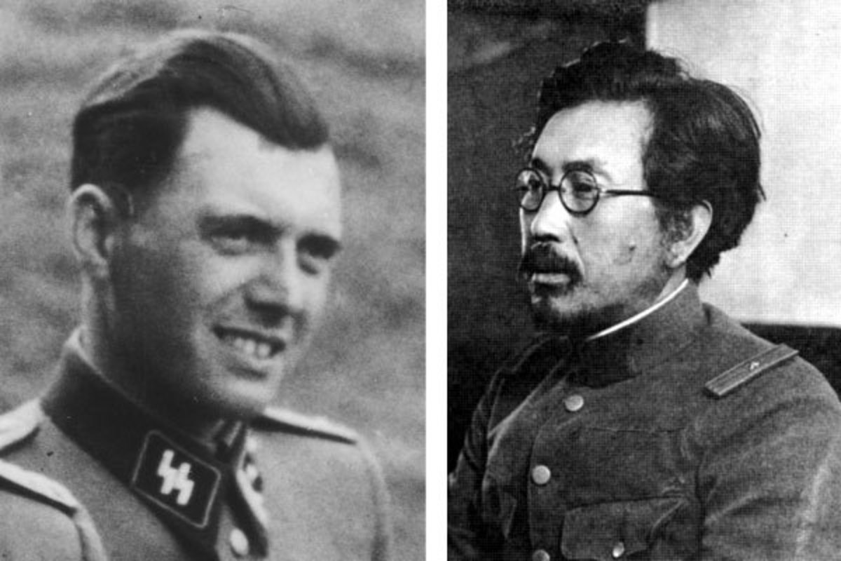 Dr. Shiro Ishii was called the Josef Mengele of the east.