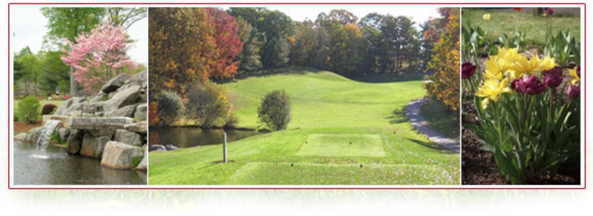 Views of Oak Hills Golf Course, Norwalk, Connecticut