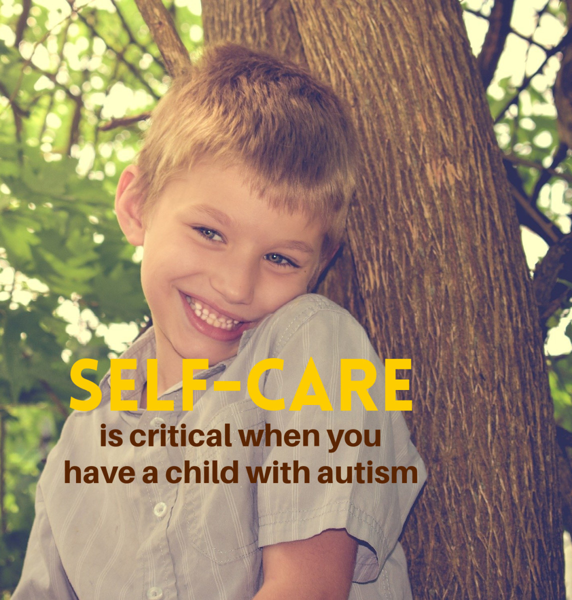 """Moms get deluged with tips from doctors, therapists, and teachers about helping their child with autism. What they most need to hear, though, is: """"Don't forget they you matter, too. Take good care of yourself."""""""