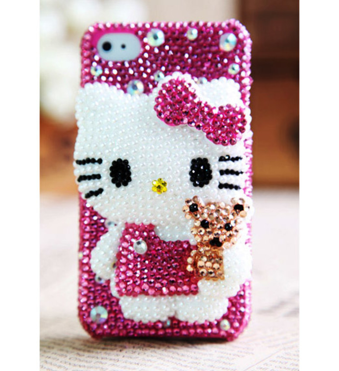 Hello Kitty and Bear iPhone and iPod Case