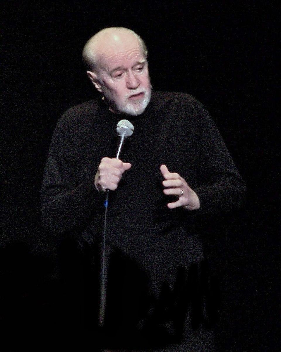 Carlin in April 2008