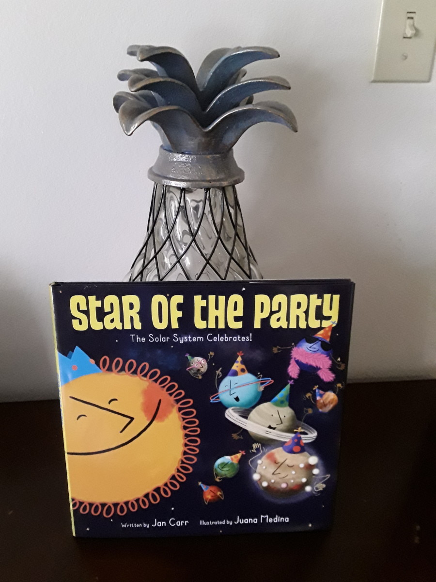 Solar System Party and Fun Facts to Learn About Space in Creative Picture Book