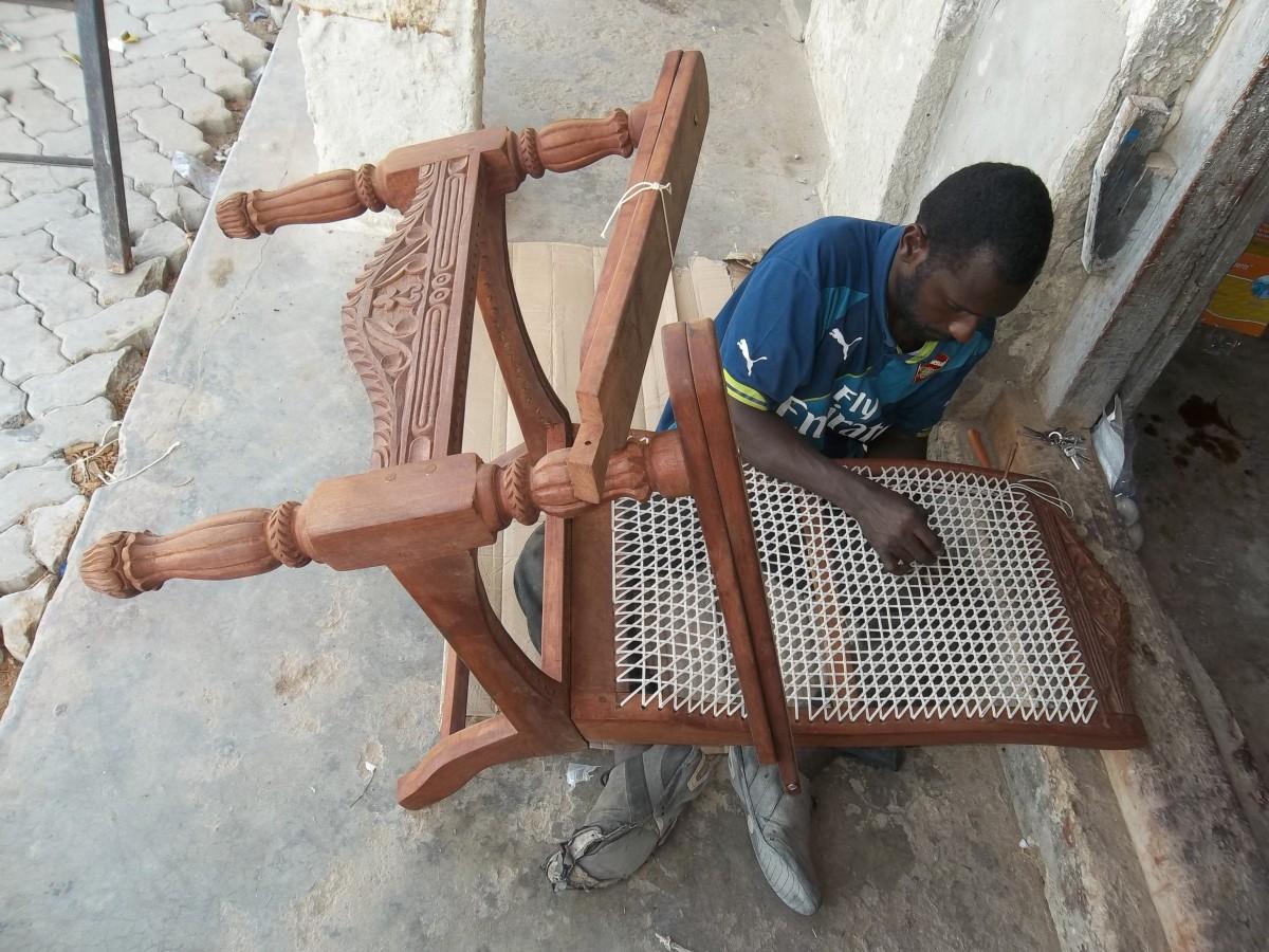 Furniture craftsmam