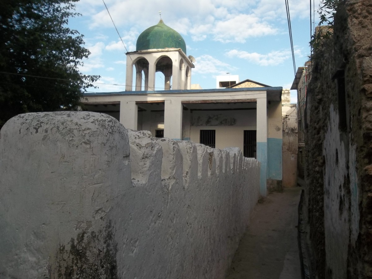 One of the Lamu Mosques