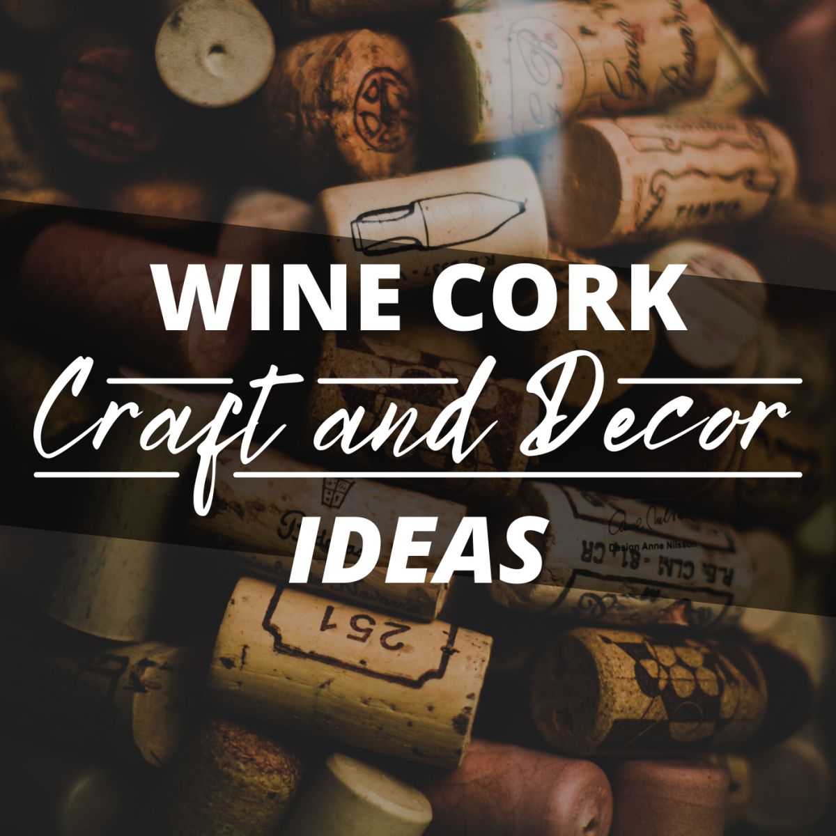 Wine corks are limitlessly useful. If you're a wine drinker, put your corks to use around the home and garden!